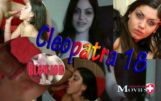 Blowjob 02 - Cleopatra 18 sucks her fitness coach