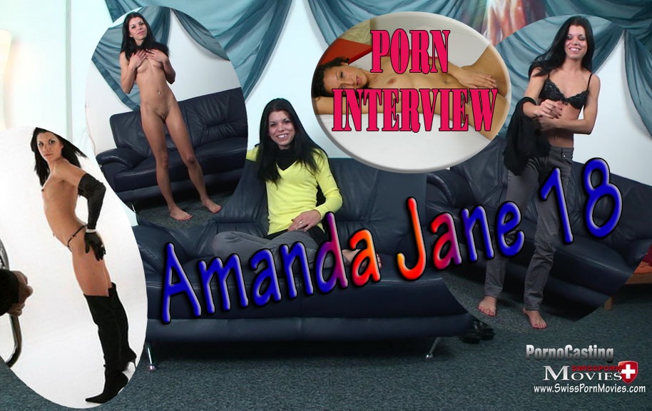 Porn Interview with Model Amanda 18