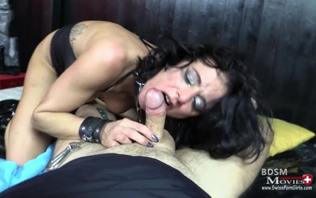 MILF Stella at SM-Casting as slave - Bild 6