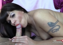 Amanda Jane is having fun with a tranny and a friend