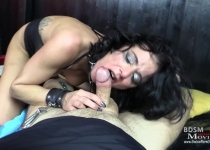 MILF Stella at SM-Casting as slave